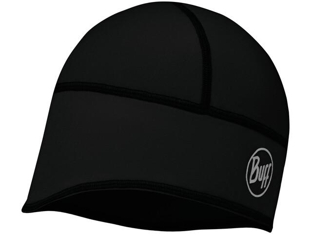 Buff Windproof Tech Fleece Gorra, solid black